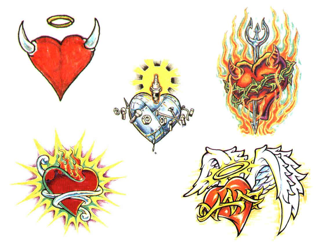 Альбом тату рисунков на