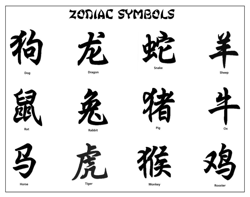 Японские иероглифы это как в